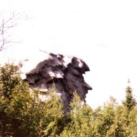Roca con Cara en Revda ,Año 1.999 - Rosa, Ревда