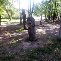 Реж. Деревянные скульптуры., Реж