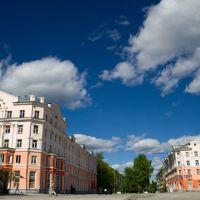 Центральная площадь, Североуральск