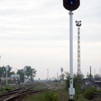 Semaphore at station, Североуральск