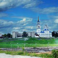 Город на вьезде с Екб., Североуральск