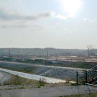 Североуральск. Река Колонга в рукотворном канале., Североуральск