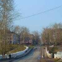 Североуральск. Мост через речку., Североуральск