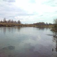 СУГРЭС - канал сброса воды в озеро Исетское, Среднеуральск