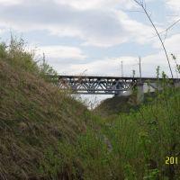 Железнодорожный мост через Пышму, Сухой Лог