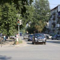 Центральный перекрёсток города, Сысерть