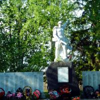 Таборы. Мемориал ВОВ, столько погибших в таком маленьком поселке., Таборы