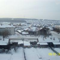 Талица. Вид из больницы на ул. Кузнецова., Талица