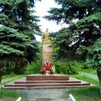 Талица. Памятник разведчику Кузнецову (Паулю Зиберту)., Талица