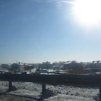 Вид на Тугулым с моста, Тугулым