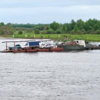 Туринск, переправа. 2006 г, Туринск