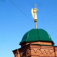 Туринск. Ангел на угловой башне женского монастыря., Туринск