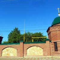 Туринск. Ограда Свято-Николаевского женского монастыря., Туринск