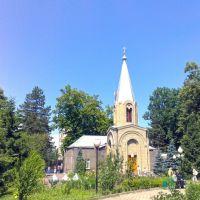 Двор Свято-Вознесенского собора, Алагир