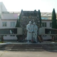 Беслан. Памятник осетинам погибшим в Великой Отечественной Войне, Беслан