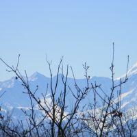 Вид на Большой Кавказ, Беслан
