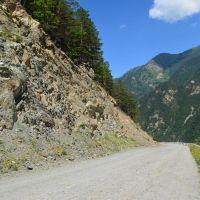 Дорога в Цейское ущелье, Бурон