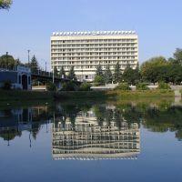 Вид на гостиницу Владикавказ, Владикавказ