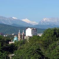 View of Mountains, Владикавказ