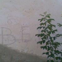 ВБР на стене школы, Моздок
