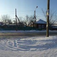 Панорама ул. Фрунзе около д. 14, Моздок