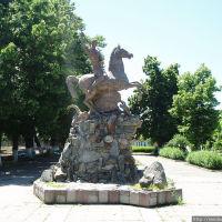 Моздок. Памятник Святому Георгию-Уастырджи покровителю осетин, Моздок