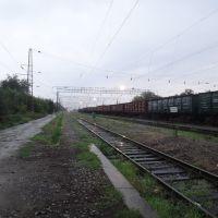 Станция Моздок, Вид на запад, Моздок