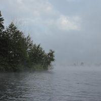 Туманное утро, Десногорск
