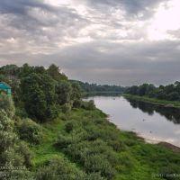 река Западная Двина в г. Велиж Смоленской области, Велиж
