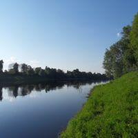 река Западная Двина город Велиж, Велиж