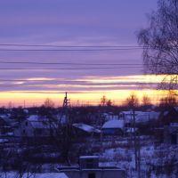 Вечер зимний, Верхнеднепровский
