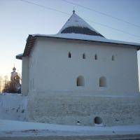 Спасская башня. Зима., Вязьма
