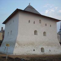 Spasskaya tower, april 2008, Вязьма