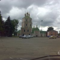 казанская церковь в центре, Гагарин