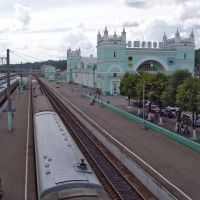 Смоленск. ЖД вокзал, Голынки