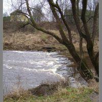 река Гобза, перекат, Демидов