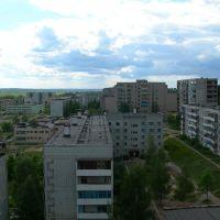 Вид на микрорайон с 9ти этажки, Дорогобуж