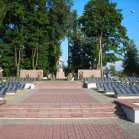 Духовщина, мемориал павшим в годы ВОВ, Духовщина