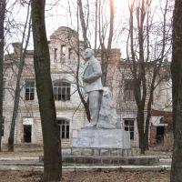 Ленин на фоне завода, Духовщина