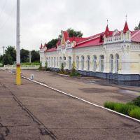 Железнодорожный вокзал Ельня Railway station Elnya, Ельня