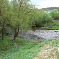 Река Хмость в Кардымово, Кардымово