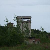 Разрушеный завод ЖБИ - окунись в атмосферу СТАЛКЕР, Починок