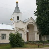 Вход в Спасо-Преображенский монастырь, Рославль
