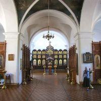 Интерьер храма Рождества Богородицы, Рославль