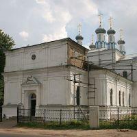 Храм Рождества Богородицы с улицы Пушкинской, Рославль