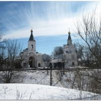 Спасо-Преображенский монастырь зимой. (от РоЛекс), Рославль