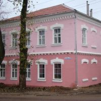 Угол улиц Ленина и Пайтерова., Рославль