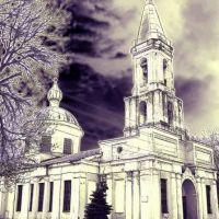 В лунном сияньи храм серебрится., Рославль