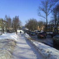 Московская. Улица Пролетарская, Рославль
