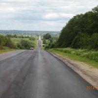 Смоленская область. Трасса  А-141., Рудня
